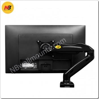 NBF80 能負載17至27吋液晶顯示的桌上型氣壓式電視架(適合電視17-27吋)  [產品查詢及安裝前後事項,為保服務質素懇請各貴客前往我們的門市查詢!]