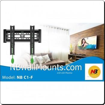 NB 固定式掛牆TV架 Fixed Mount(適合17-40吋 電視使用)型號:  NBC1F  [產品查詢及安裝前後事項,為保服務質素懇請各貴客前往我們的門市查詢!]