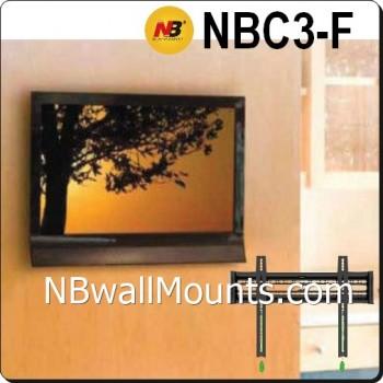 NB 固定式掛牆架  NB Fixed Mount(建議37至61吋電視使用) NBC3F  [產品查詢及安裝前後事項,為保服務質素懇請各貴客前往我們的門市查詢!]